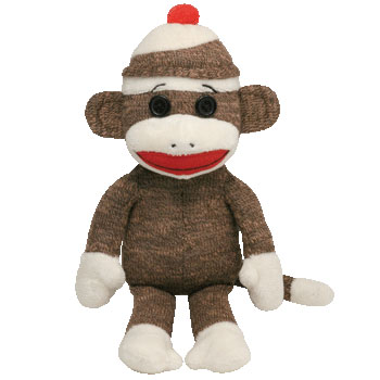 SOCK MONKEY (brown)
