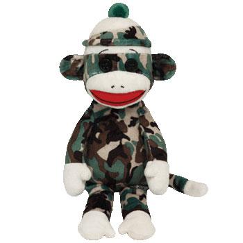 SOCK MONKEY (camouflage)