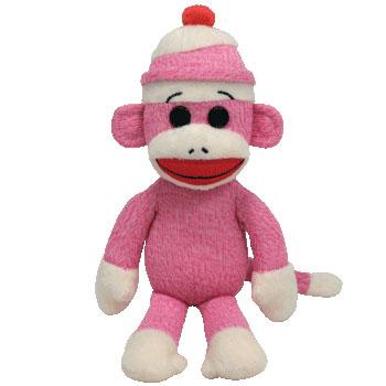 SOCK MONKEY (pink)
