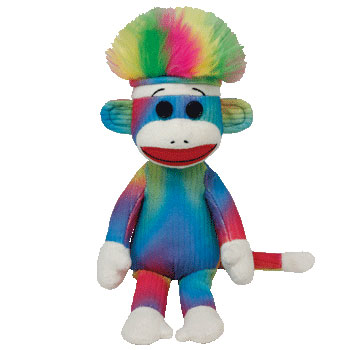 SOCK MONKEY (rainbow)