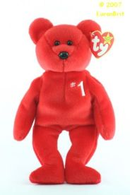 #1 Bear Ty Beanie Baby