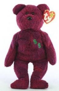 Billionaire #2 Bear Ty Beanie Baby