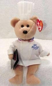 Chef Robuchon Ty Beanie Baby