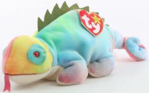 Iggy vs Rainbow Ty Beanie Babies - Beanie Babies Price Guide