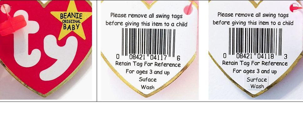 Ty Error Tags, Beanie Baby Birth Dates, Values, Myths