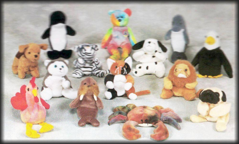 ALL CAPS Beanie Baby Swing Tags!