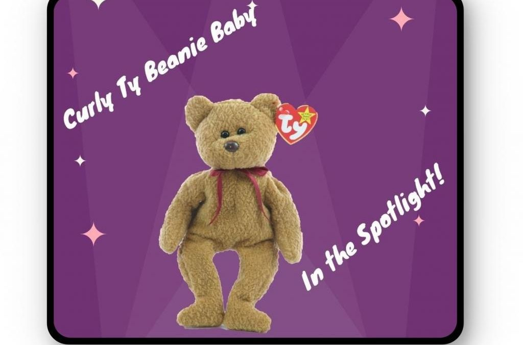 Curly Ty Beanie Baby in the Spotlight
