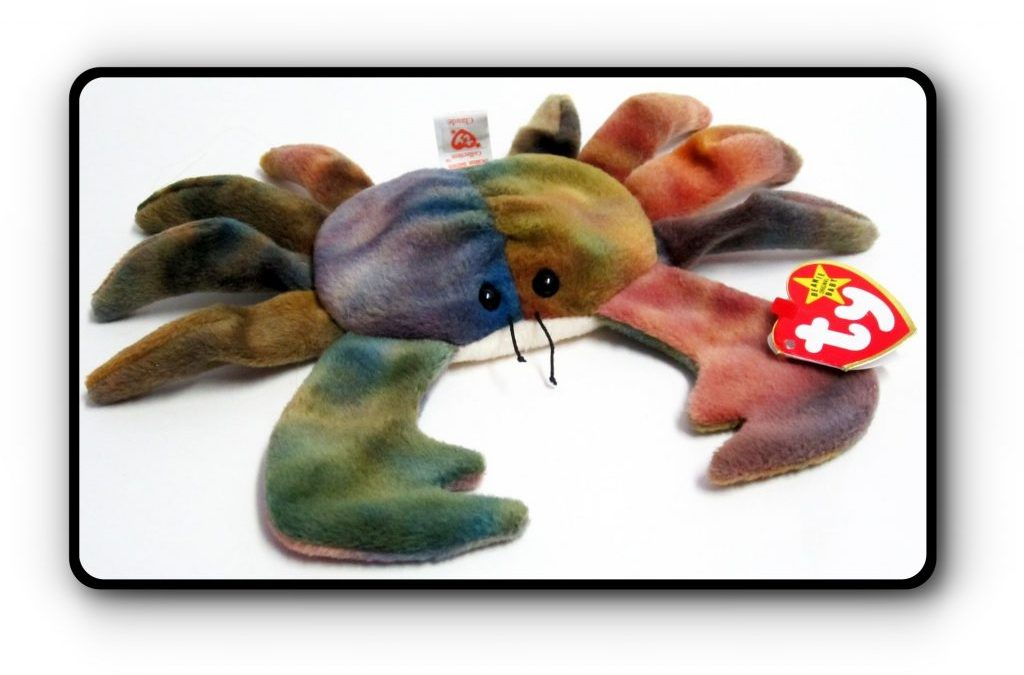 Claude Ty Beanie Baby in the Spotlight