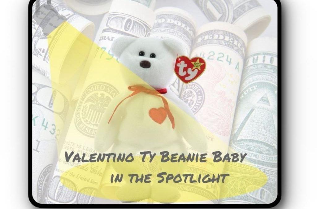 Valentino Ty Beanie Baby in the Spotlight
