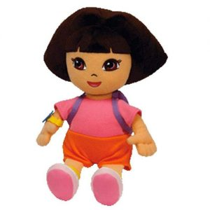 Dora the explorer plush hair